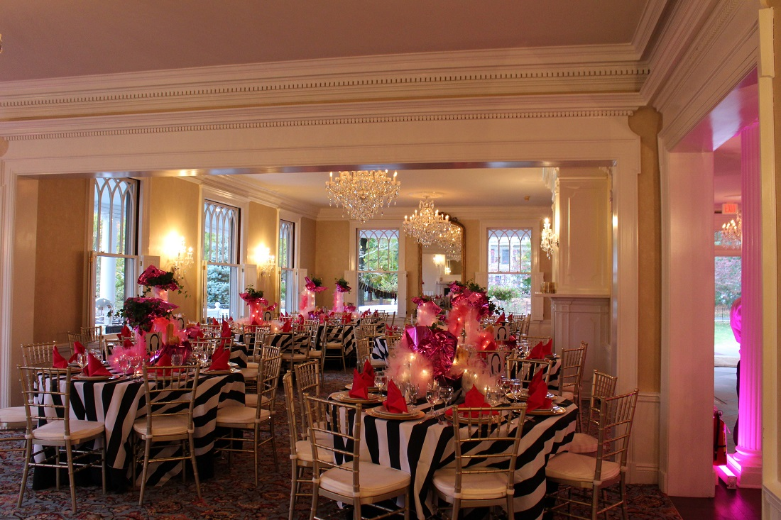 Lounsbury House Offers A Unique And Elegant Venue For Your Bar Mitzvah Or Bat